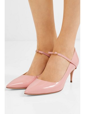 Jennifer Chamandi lorenzo patent-leather pumps