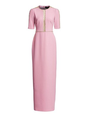 Jenny Packham cari embellished column gown