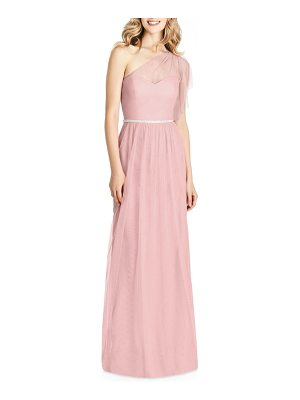 JENNY PACKHAM One-Shoulder Tulle Gown
