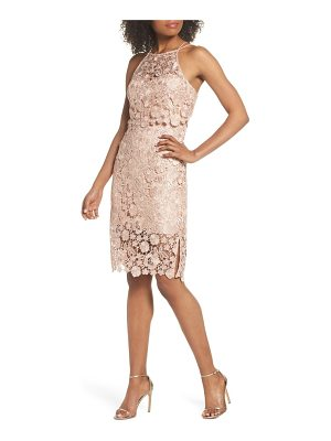 JENNY YOO Freya Lace Sheath Dress