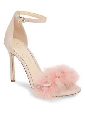 Jessica Simpson jolinda feathered sandal