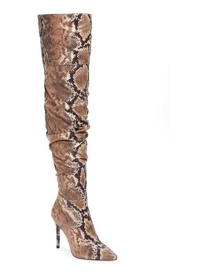 Jessica Simpson lyrelle pointy toe slouchy knee high boot