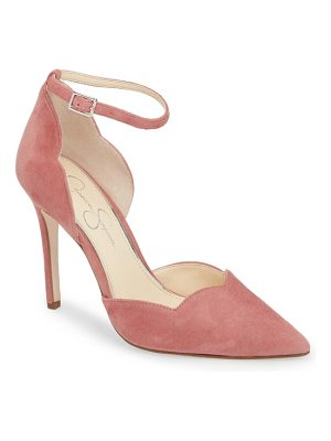 Jessica Simpson pairus scalloped d'orsay pump