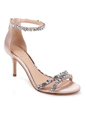JEWEL BADGLEY MISCHKA darlene embellished ankle strap sandal