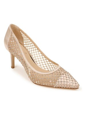 JEWEL BADGLEY MISCHKA floria crystal embellished pump