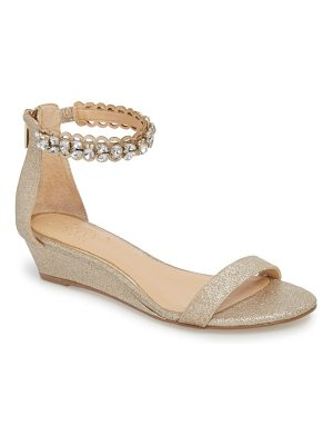 JEWEL BADGLEY MISCHKA ginger wedge sandal