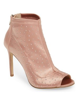 JEWEL BADGLEY MISCHKA margarita embellished peep toe bootie