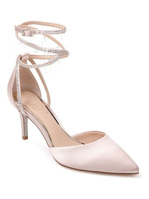 JEWEL BADGLEY MISCHKA sabrina crystal embellished pump