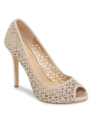 JEWEL BADGLEY MISCHKA Tammi Peep Toe Pump
