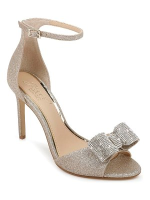 JEWEL BADGLEY MISCHKA urania crystal bow ankle strap sandal