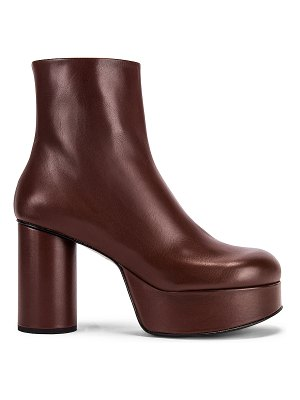 Jil Sander chunky ankle boots