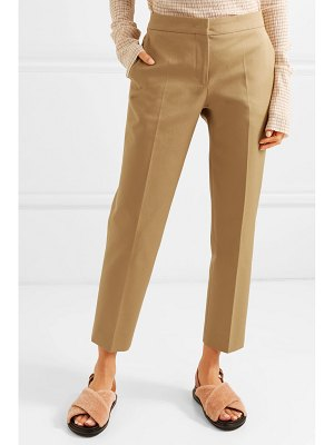 Jil Sander cotton-twill straight-leg pants