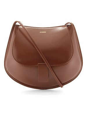 Jil Sander small leather satchel cross-body bag