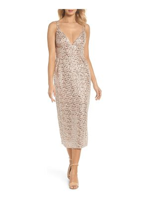 Jill Jill Stuart sequin midi sheath dress