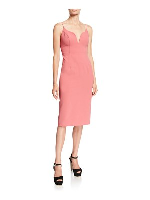 Jill Jill Stuart Sweetheart Sleeveless Body-Con Dress