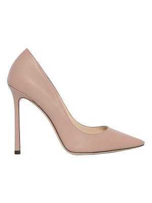 Jimmy Choo 100mm romy leather pumps