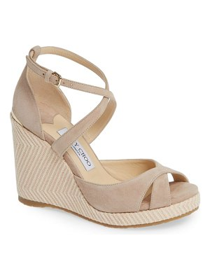 Jimmy Choo alanah strappy wedge sandal