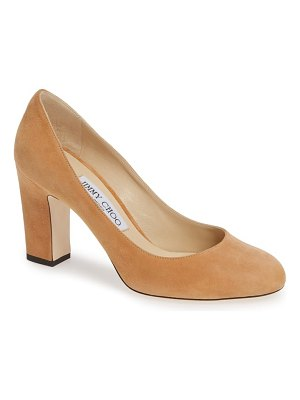 Jimmy Choo billie block heel pump