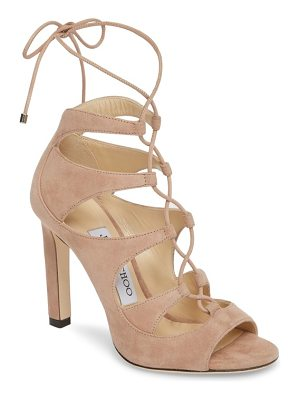 JIMMY CHOO Blake Lace-Up Sandal