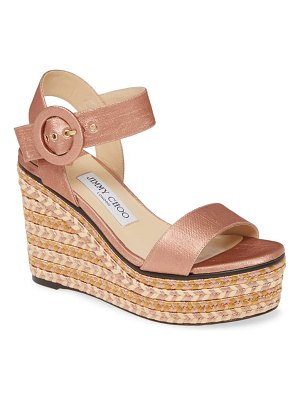 Jimmy Choo platform wedge