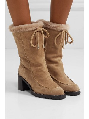 Jimmy Choo buffy 65 shearling-lined suede boots