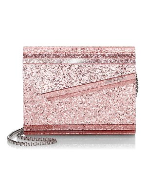 Jimmy Choo candy floss acrylic clutch