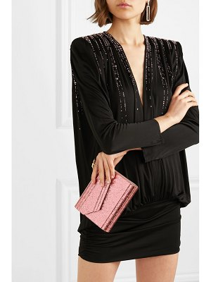 Jimmy Choo candy glittered acrylic clutch