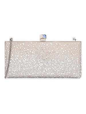 Jimmy Choo celeste sprinkled crystal box clutch
