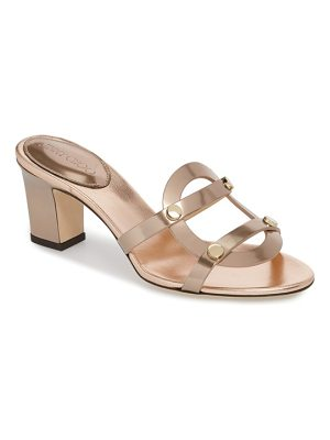 JIMMY CHOO Damaris Block Heel Sandal