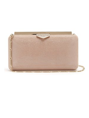 Jimmy Choo Ellipse crystal-embellished clutch bag