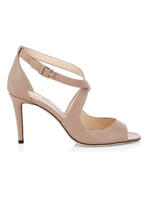 Jimmy Choo emily crossover patent leather sandals