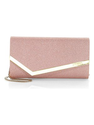 Jimmy Choo emmie leather clutch