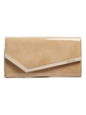 Jimmy Choo emmie patent clutch