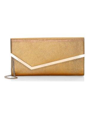 Jimmy Choo erica leather envelope bag