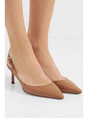 Jimmy Choo erin 60 leather slingback pumps