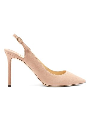 Jimmy Choo Erin 85 suede sling back pumps