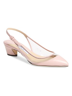 Jimmy Choo gemma pointy toe slingback pump