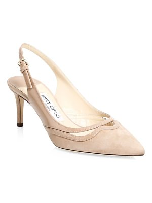 JIMMY CHOO Harrison Point-Toe Slingback Pumps