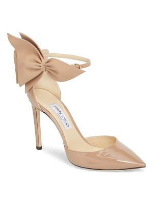 Jimmy Choo kelley bow pointy toe pump