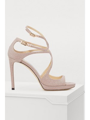 Jimmy Choo Lanc 100 sandals