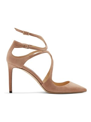Jimmy Choo Lancer 85 suede pumps