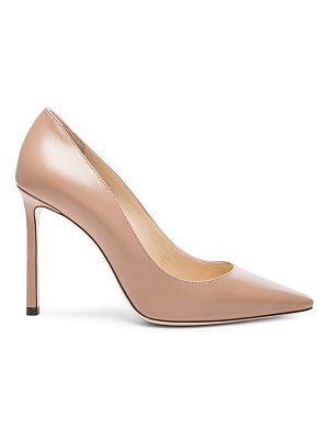 Jimmy Choo Romy 100 Leather Pumps