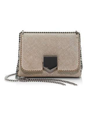 Jimmy Choo lockette canvas leather bag