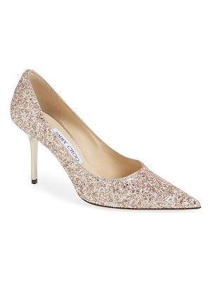 Jimmy Choo love glitter pump
