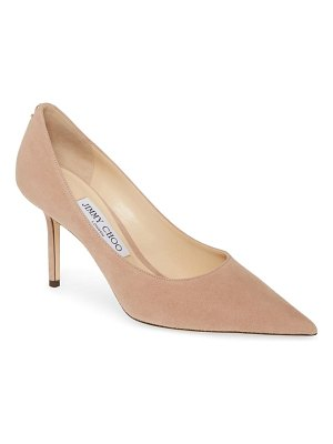 Jimmy Choo love suede pointed toe pump