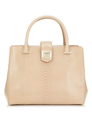 Jimmy Choo MARIANNE Nude Python Tote Bag