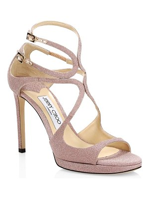 Jimmy Choo metallic slingback sandals