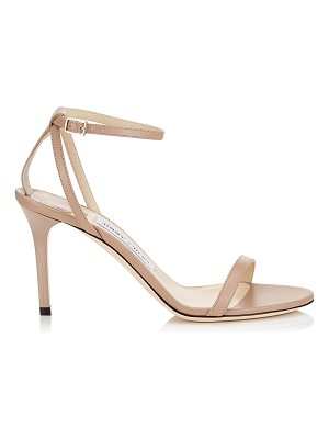 Jimmy Choo MINNY 85 Ballet Pink Kid Leather Sandals