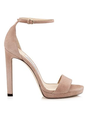 Jimmy Choo MISTY 120 Ballet Pink Platform Sandals