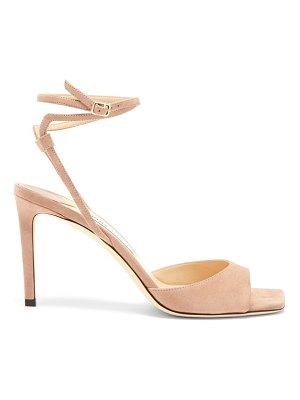 Jimmy Choo mori wraparound-strap suede sandals